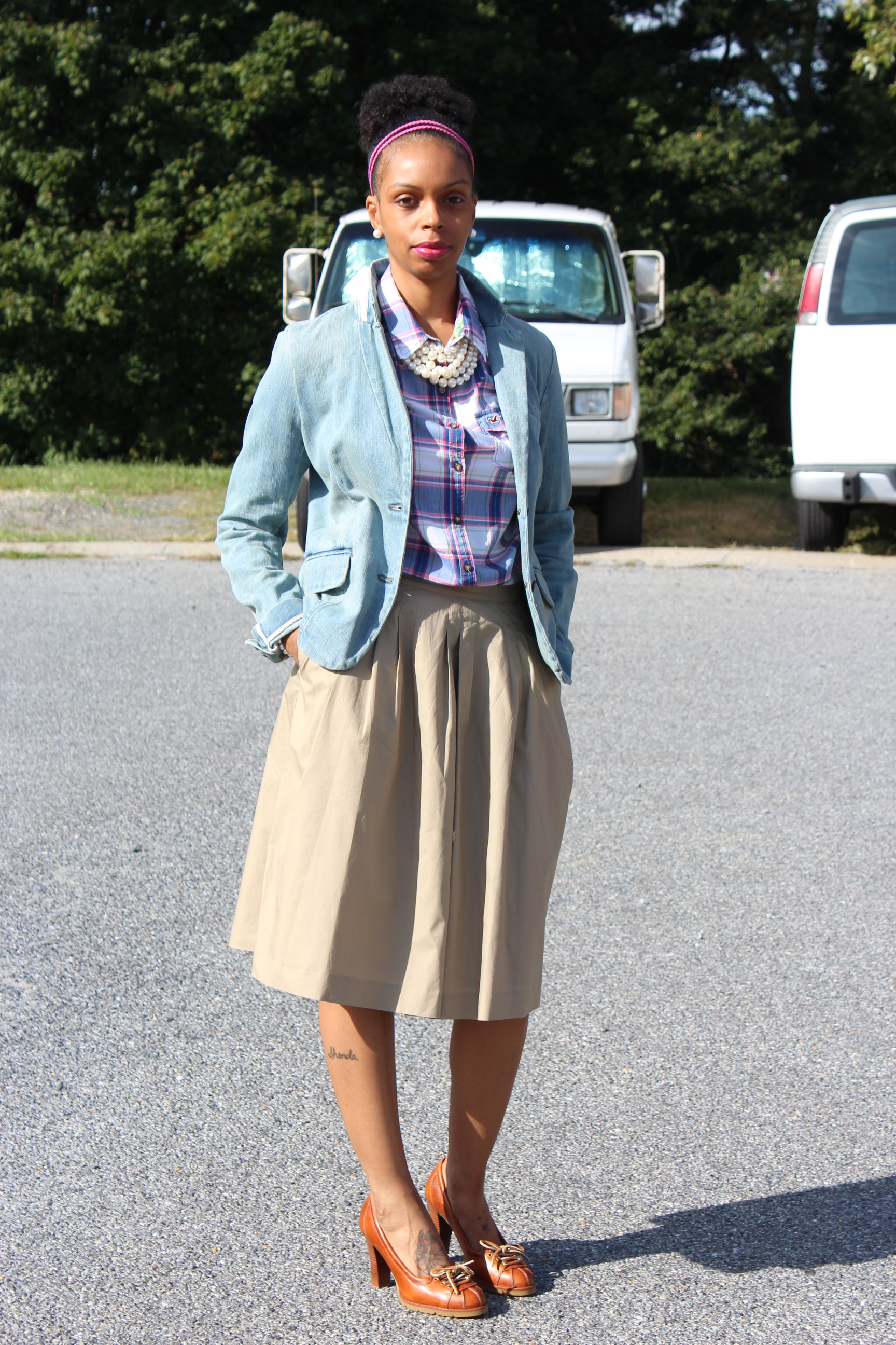 preppy girl  1st state style